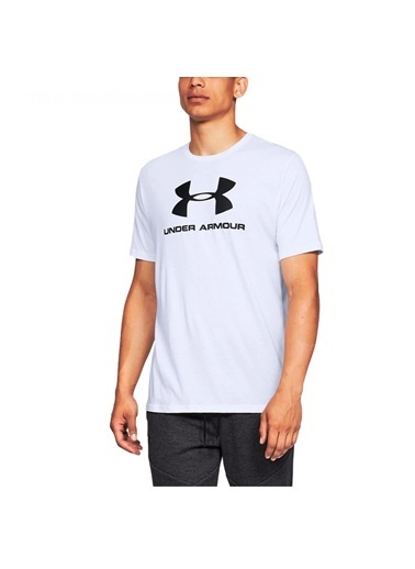 Under Armour Sportstyle Logo Ss Siyah